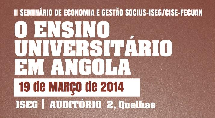 O Ensino Superior em Angola